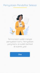 6. Proses isian data identitas pendaftar program kartu prakerja gelombang 17 2021
