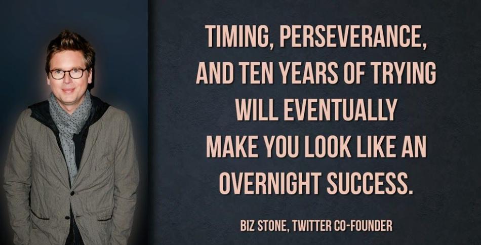 Biz Stone, salah satu pendiri Twitter