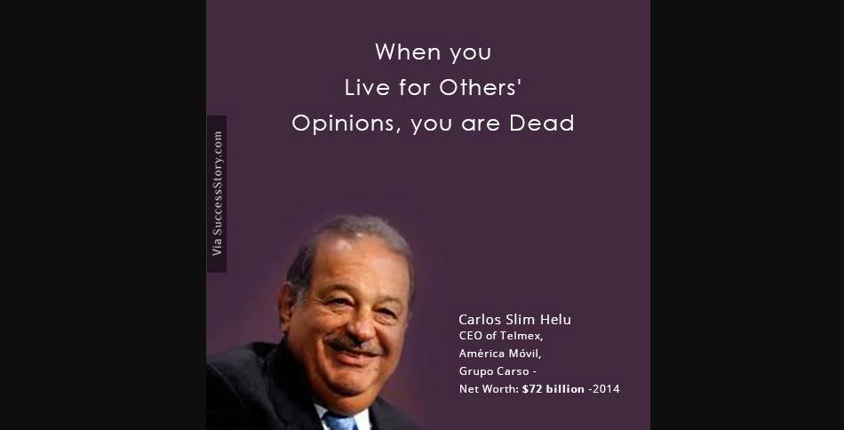 Carlos Slim Hill, mantan pemilik gelar orang terkaya di dunia