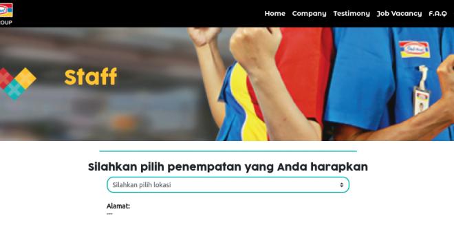 Lowongan Kerja Indomaret 2021 Seluruh Indonesia Lulusan SMA dan D3 dan Cara Daftar Online