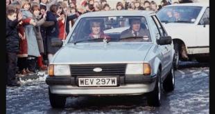 Mobil Hadiah Pertunangan Putri Diana dilelang