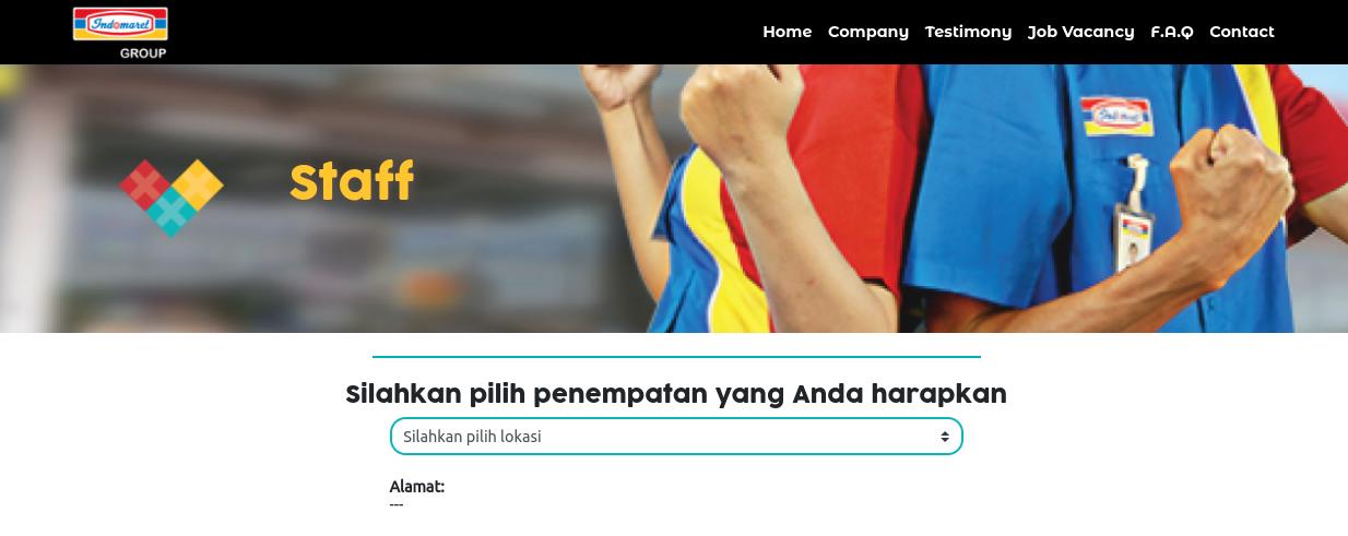 Lowongan Kerja Indomaret 2021 Seluruh Indonesia Lulusan Sma Dan D3 Dan Cara Daftar Online Teknosiana