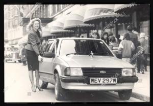 foto jadul mobil ford escort 1981 lady diana