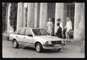foto jadul mobil ford escort 1981 lady diana yang akan dilelang juni 2021