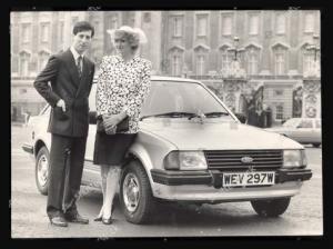 foto mobil ford escort 1981 kesayangan putri diana
