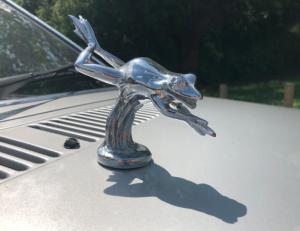 maskot katak perak mobil ford escort 1981 putri diana