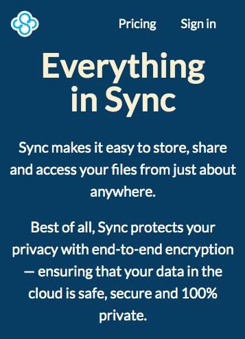sync cloud storage terbaik 2021