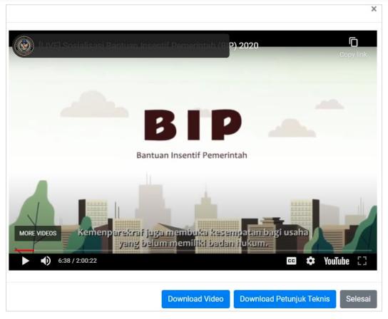 tahapan pendaftaran BIP 2021 lihat video sebelum daftar
