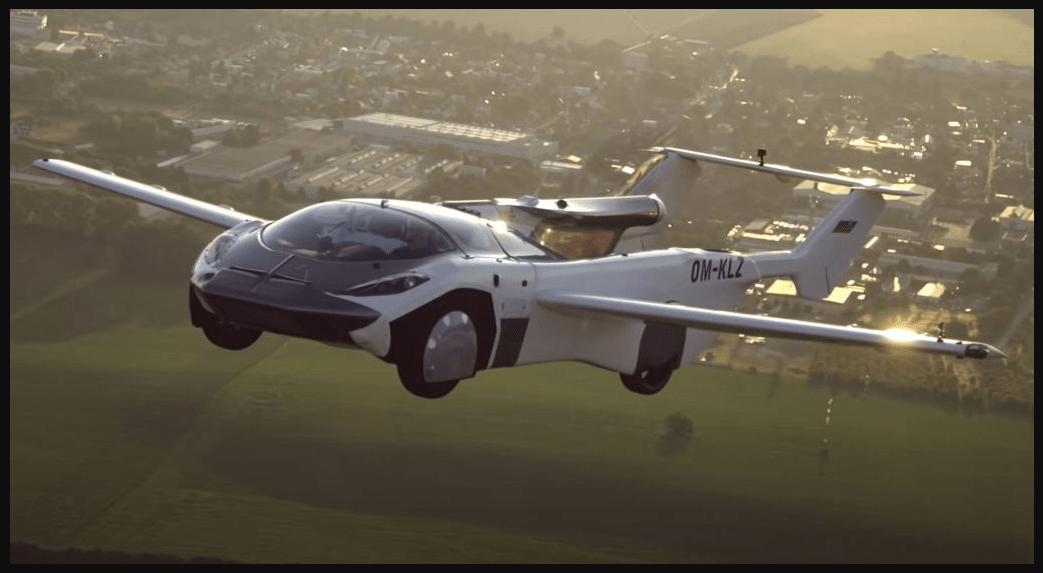 Mobil Terbang aircar pentagon motor group belum Asuransi 4