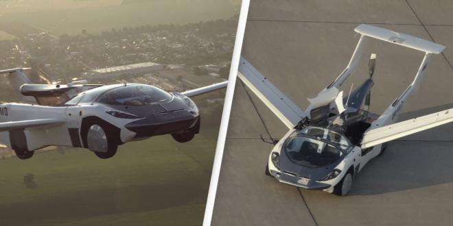 Mobil Terbang aircar pentagon motor group belum Asuransi