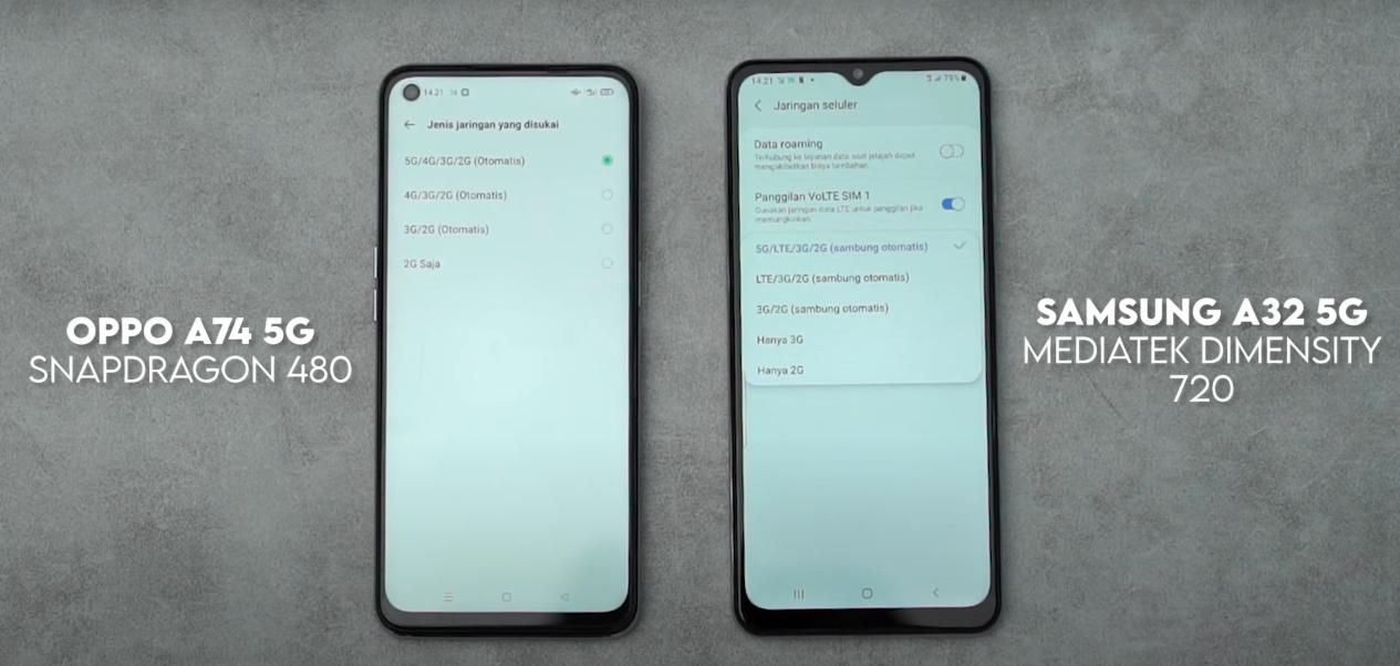 Samsung A32 5G atau OPPO A74 5G, Pilih Mana? 4