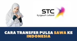 Cara Transfer Pulsa Sawa ke Indonesia