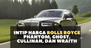Intip Harga Jenis Mobil Rolls Royce Phantom, Ghost, Cullinan, dan Wraith