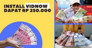 instal vidnow dapat uang