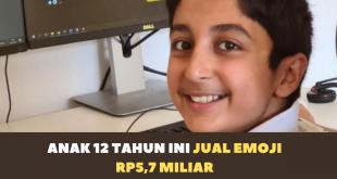 Anak 12 Tahun ini Berhasil Menjual Emoji Rp5,7 Miliar