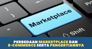 Perbedaan Marketplace dan E-commerce serta pengertiannya