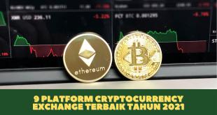 9 Platform Cryptocurrency Exchange Terbaik Tahun 2021