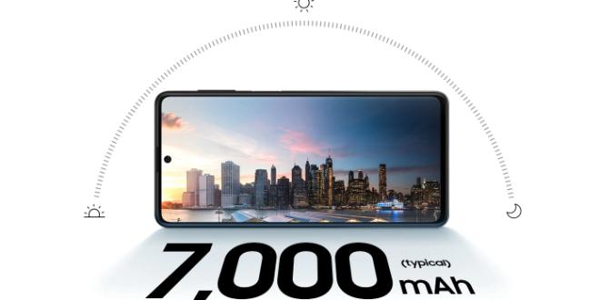 Smartphone 7000mAh Samsung Galaxy M62