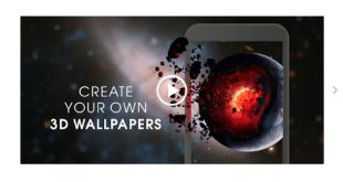 Wallpaper Keren 3D Bergerak untuk Android